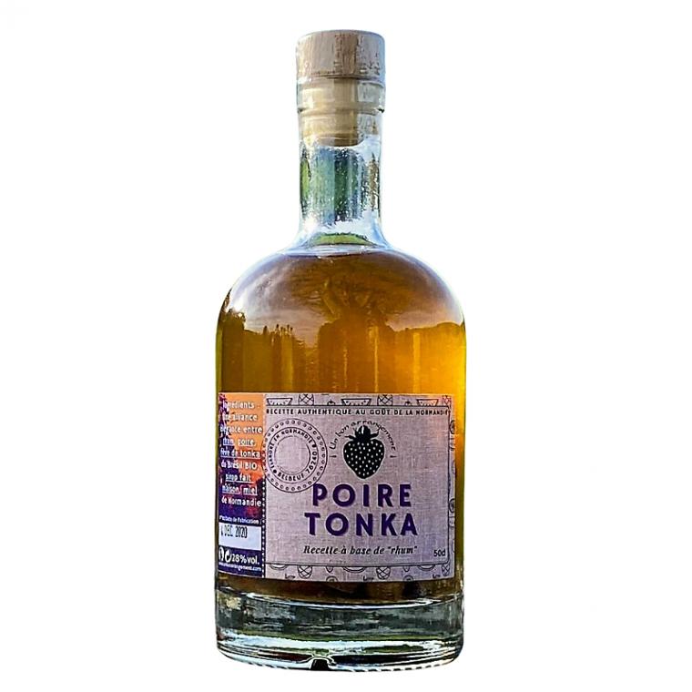 Rhum Arrangé Artisanal Poire Tonka